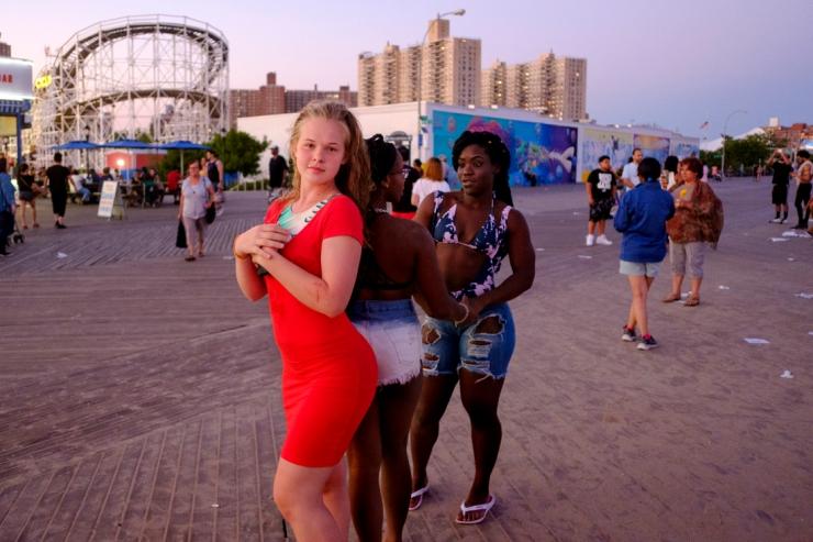 Coney Island.  Sunday July 8, 2018. Brooklyn, NY, USA