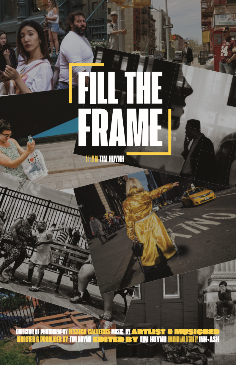 Official Poster for Fill The Frame