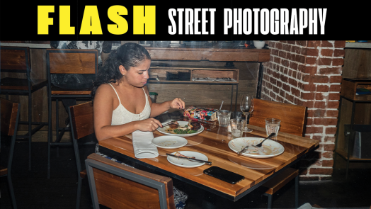 Flash Street Photography